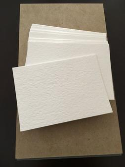 100 Blank Watercolor Artist Trading Cards ACEO ATC Cardstock