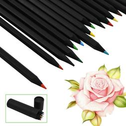 24Pc Professional Drawing Artist Kit Set Pencils and Sketch