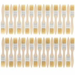 Us Art Supply 36 Pack Of 1 Inch Paint And Chip Paint Brushes