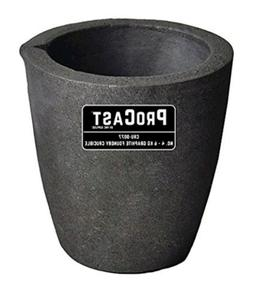 PMC Supplies LLC #4-6 Kg ProCast Foundry Clay Graphite Cruci