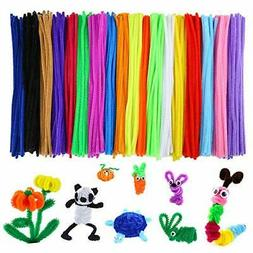 Caydo 700 Pieces 20 Colors Pipe Cleaners for Valentine DIY A