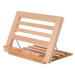 US Art Supply Extra-Large Wooden Bookrack Table Easel & Cook