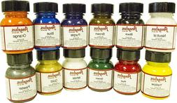 Angelus Acrylic Leather & Vinyl Paint Starter Kit - Set #2,