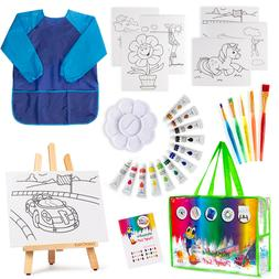 Art paint Set For Kids 27 piece Drawing Kit,Painting Supplie