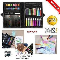 Art Supplies Set Draw Painting Craft Kids Adult Crayons Mark