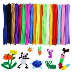 Caydo 700 Pieces Assorted ColorsChenille Stems Pipe Cleane