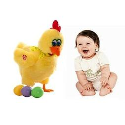 Baby Toys Interesting Walking Chicken With Sound Laying Egg
