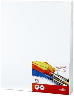 "Blank Canvas Panels 12 Pack 11"" x 14"" Professional Art Board"