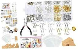 Caydo 700 Pieces Earring Making Supplies Kit with Instructio