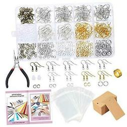 caydo 700 pieces earring making supplies kit