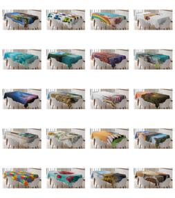 Ambesonne Colorful Love Tablecloth Table Cover for Dining Ro