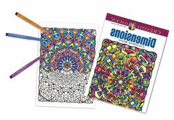 Faber Castell Creative Haven Dimensions Coloring Book and PITT Artist Brush Pens