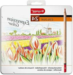 Bruynzeel Expression 24pc Colored Pencil Set