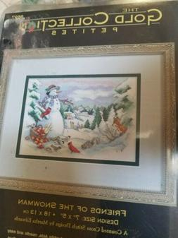 Friends Of The Snowman Dimensions Gold Collection Petites cr