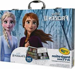 Crayola Frozen 2 Inspiration Art Case 100 Art & Coloring Sup