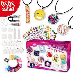Jewelry Making Art Supplies for Girls- Arts and Crafts DIY K
