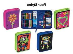 Kids Art Kit Set Craft Toy Supplies Case Gift Drawing Colori