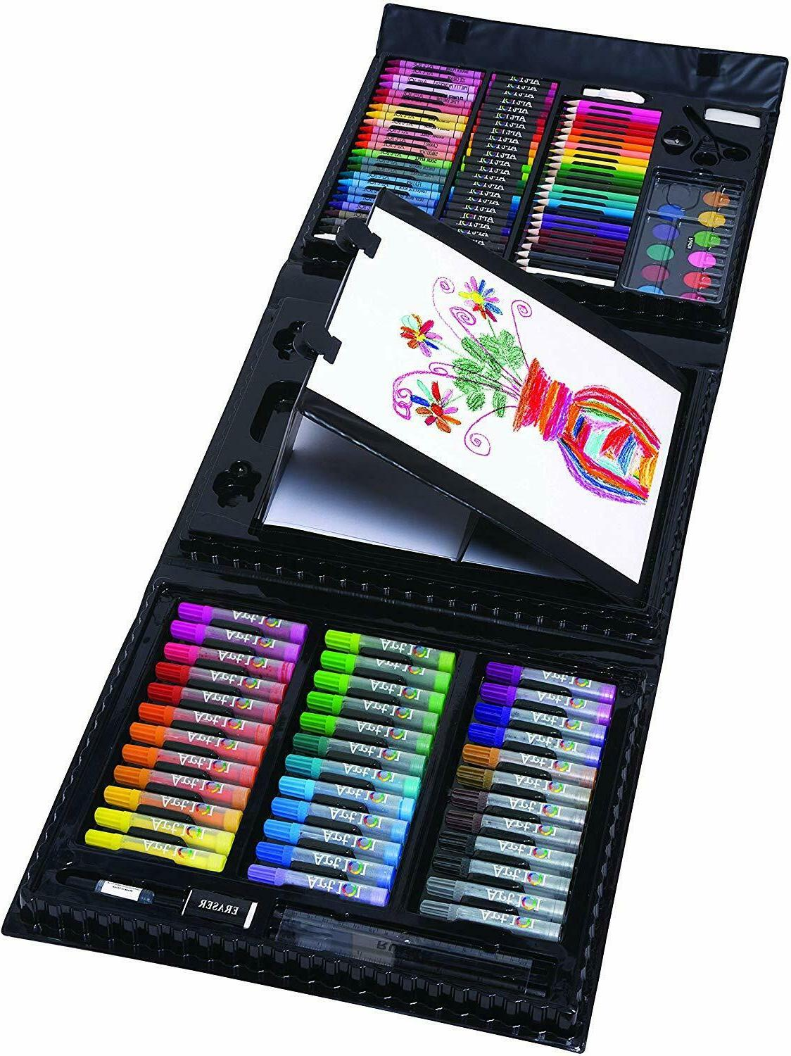 150 Piece Art For Kids Supplies Drawing Kit