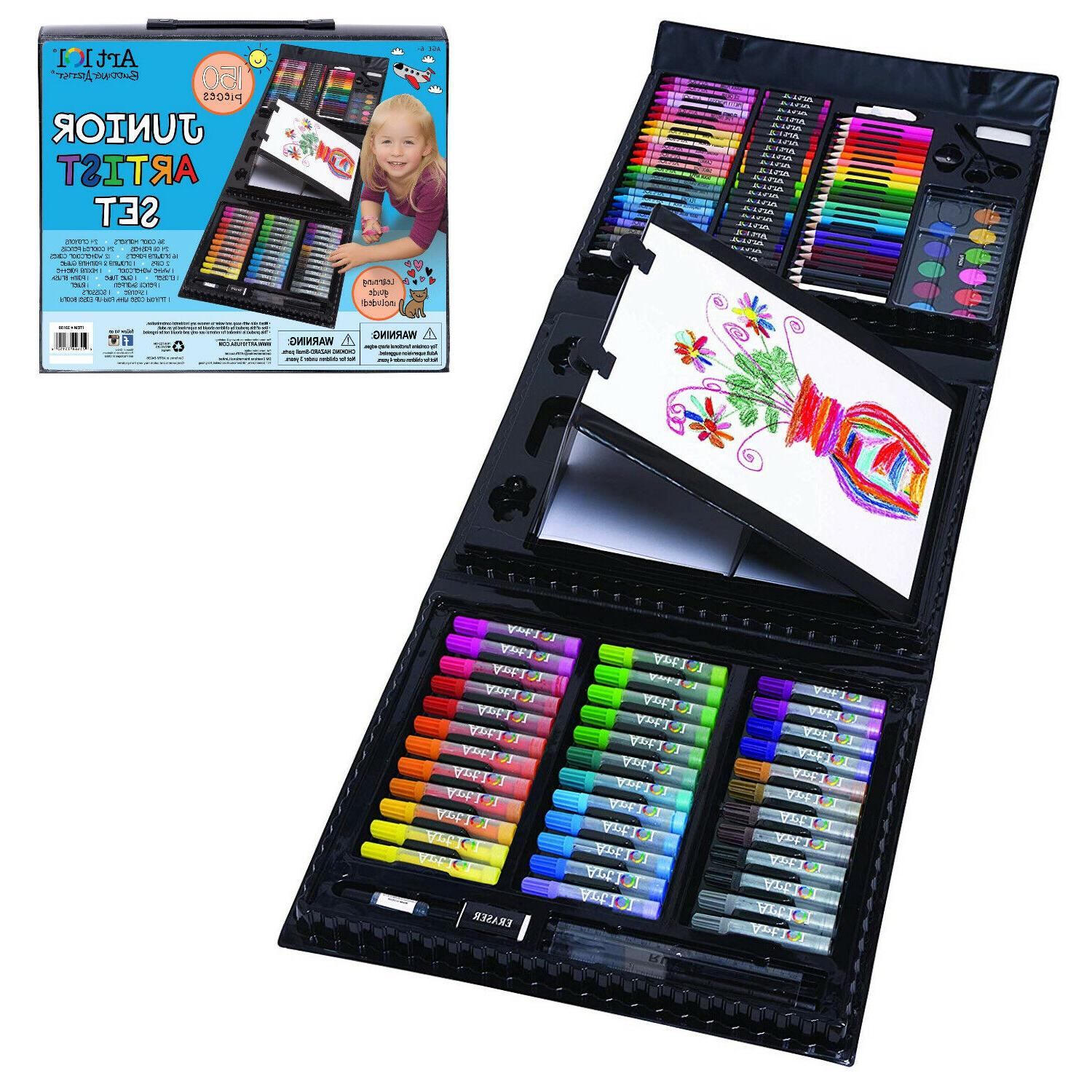 150 piece art set for kids gifts