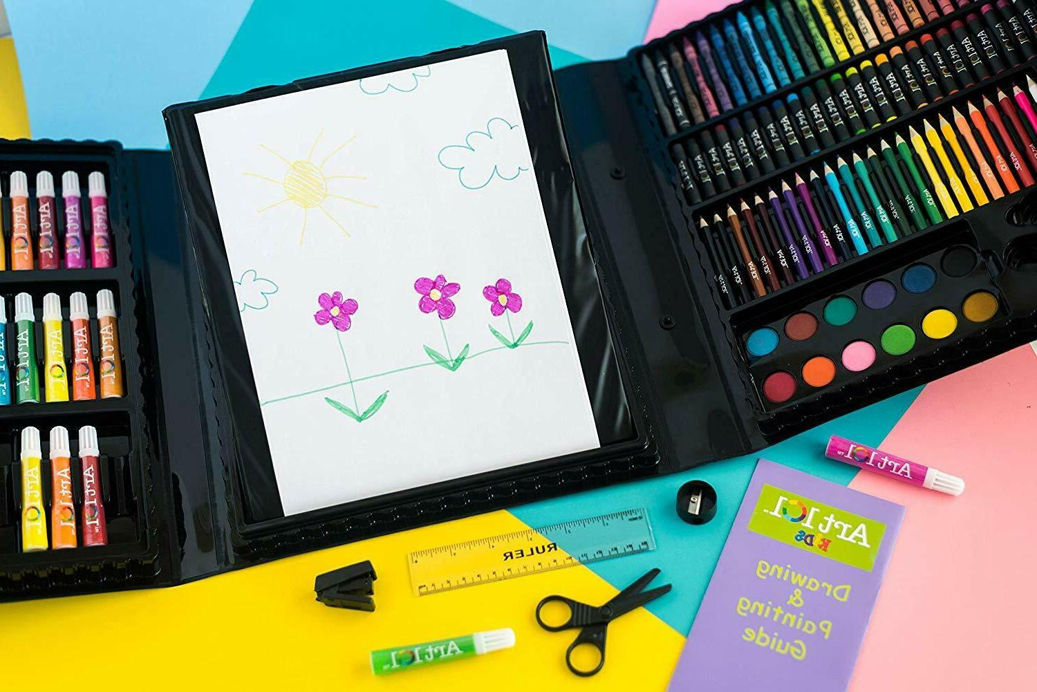 179 For Kids Drawing Painting Coloring Kit