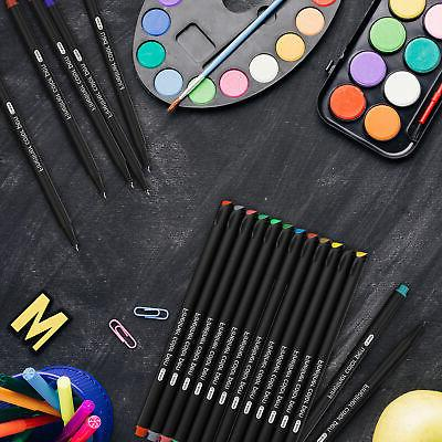 24 Pack Color Tip Markers for Supplies Drawing