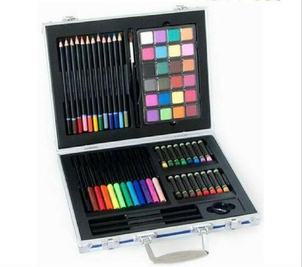 70Pc Set Kids Drawing Kit Supplies For pencils