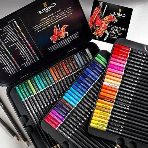 Castle Art Supplies Watercolor Pencils Adults
