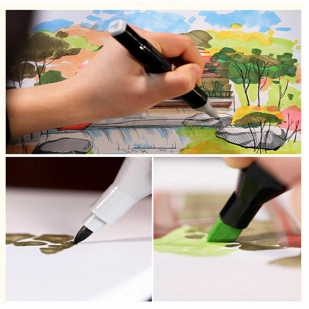 80 Color Graphic Twin Drawing Pen Fine Point