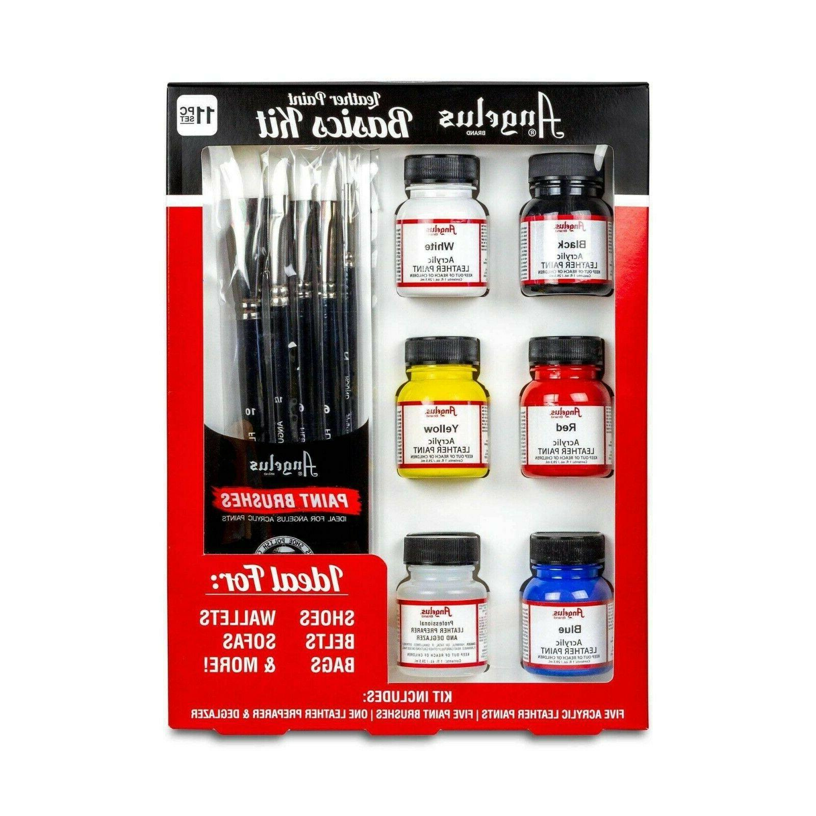 leather paint starter kit with preparer
