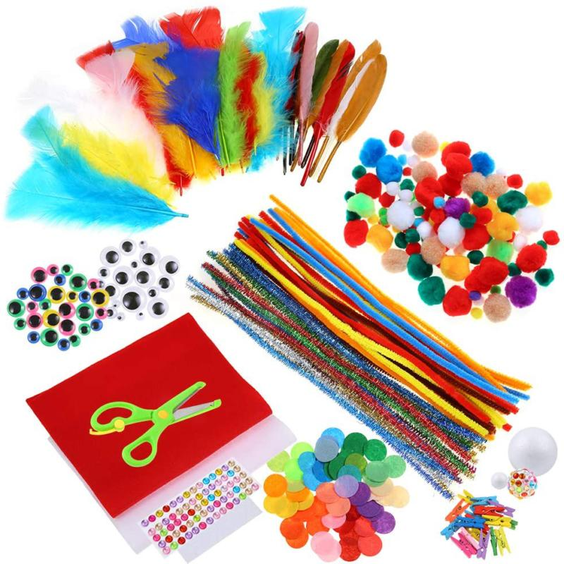 Caydo Art and Kit Cleaners, Pom Poms, and