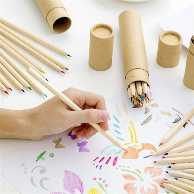 Children Painting Book Stress Relief Books Colored Pencils