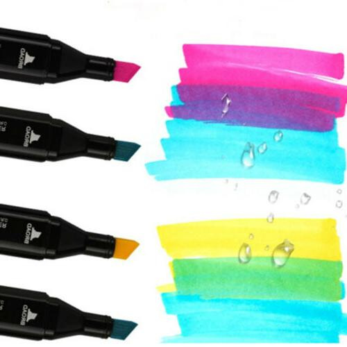 80 Pen Alcohol Twin Markers For Student