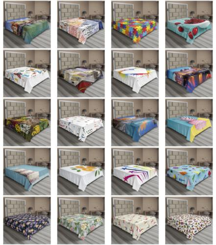 Ambesonne Sheet Top Bedding Sizes