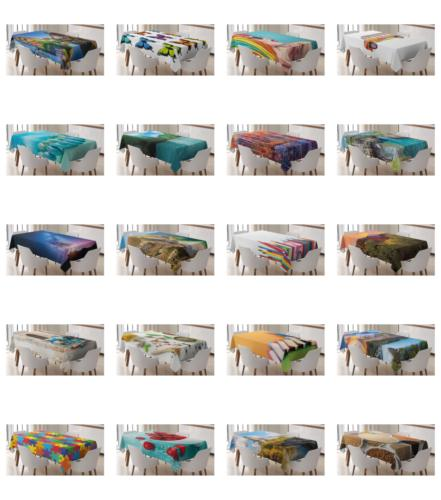 colorful love tablecloth table cover for dining
