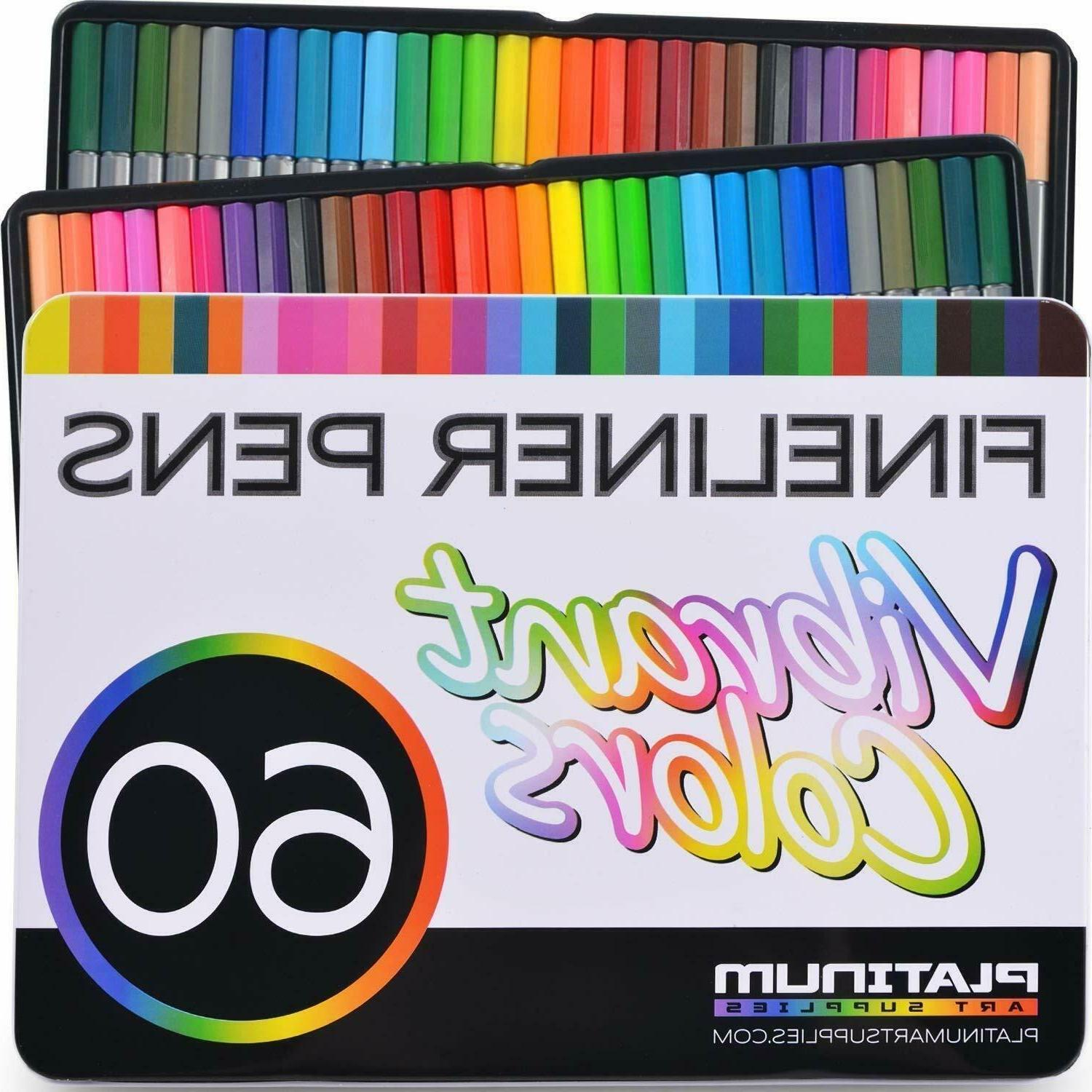 fineliner pen set colorful ultra