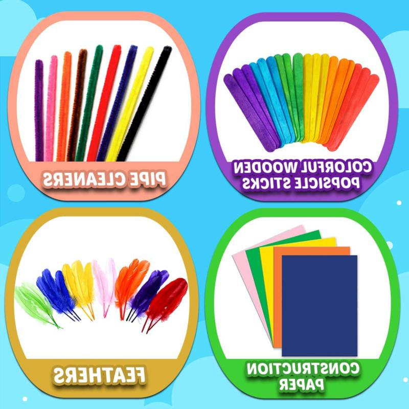 GoodyKing Crafts Supplies for Craft Supply Jar Kit for