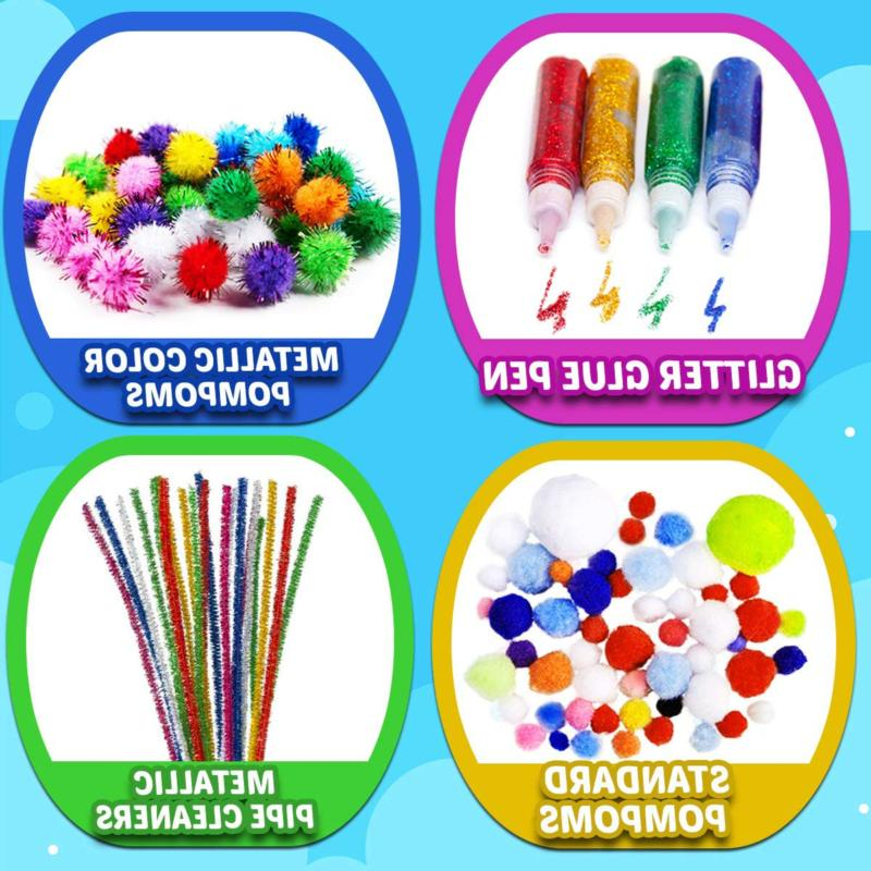 GoodyKing Arts and Supplies Kids Craft Art Kit for Stude