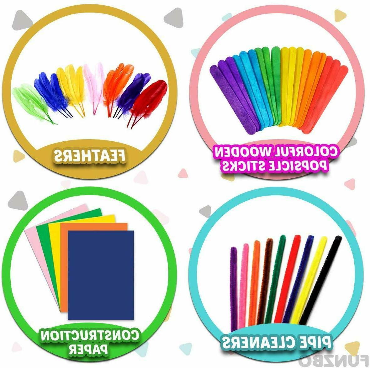 Kids Art and Craft Supplies in Supply Kit