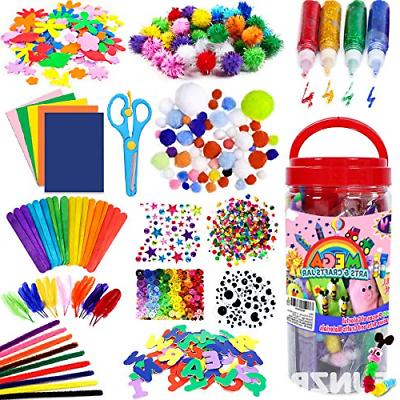 kids art and craft supplies all in