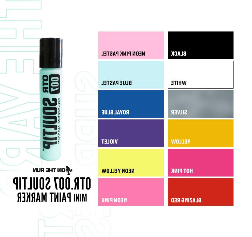 On The SOULTIP Paint 6MM Mohair Art Supplies