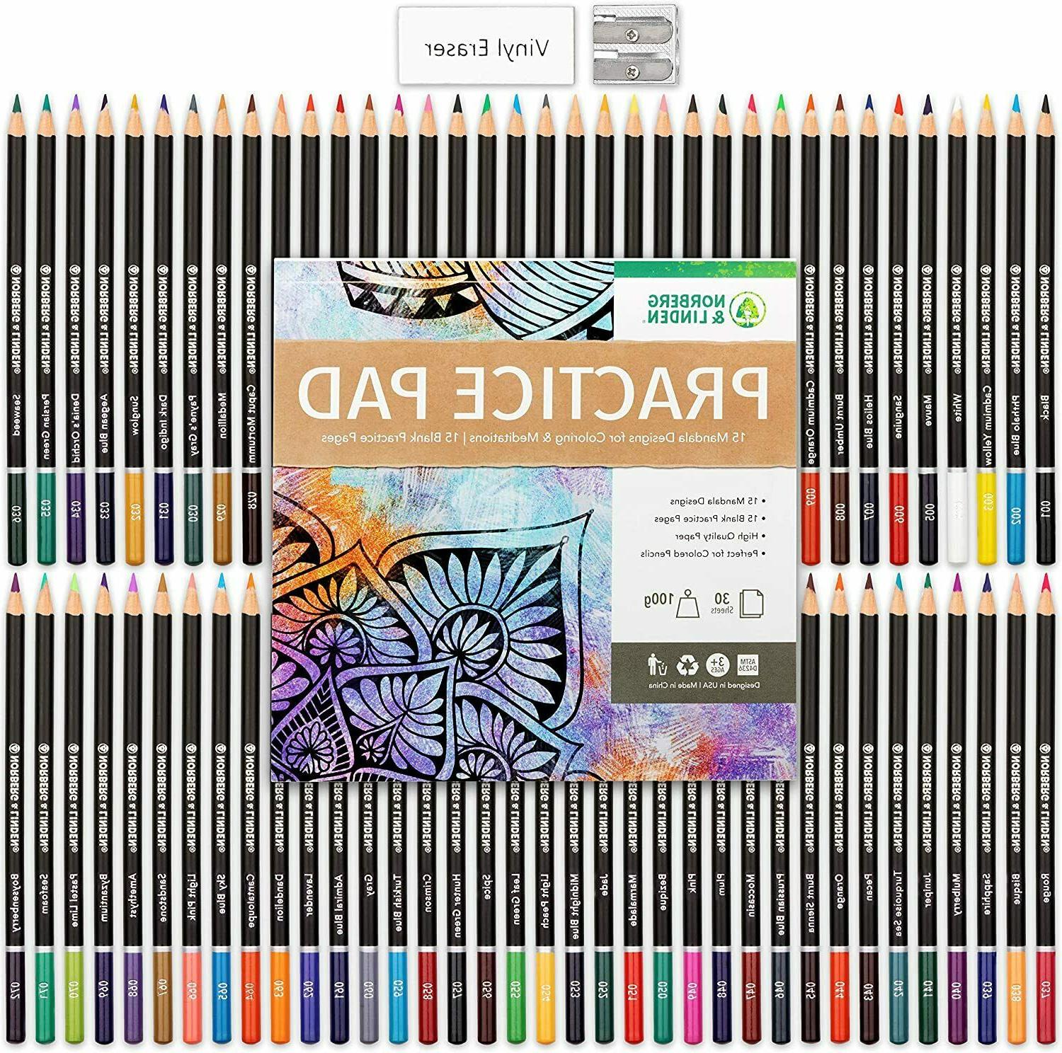 Professional Drawing Oil-Based Colored Pencils Artists Set ...