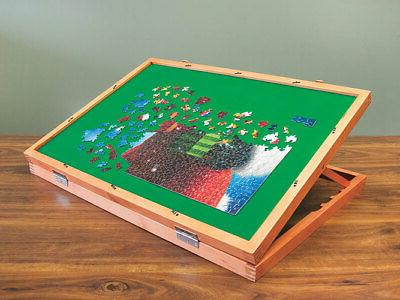 puzzle easel table