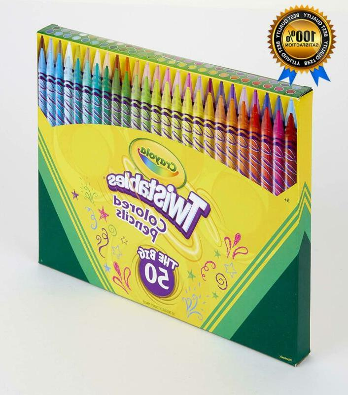 Crayola Twistables Colored Set, for 50