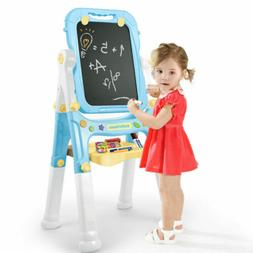 Magnet LED Music Kids Easel Art Supplies Double Sided Childr