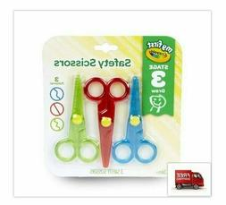 My First Safety Scissors Toddler Art Supplies 3ct Perfect Fo
