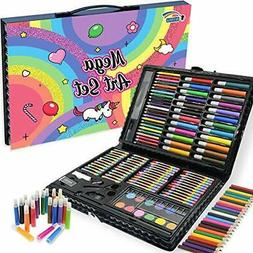 NIMU 120 Piece Deluxe Art Set, Art Supplies for Drawing, Pai