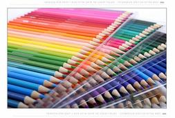 Oil Colored Pencils Set Wooden 160 Colors PU Case Drawing Sk