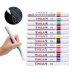 Paint Markers - Oil Based - Set Of 12 Colors Fine Oil Based