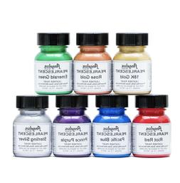 Angelus Pearlescent Leather Paint W/ Applicator- 1oz - All C