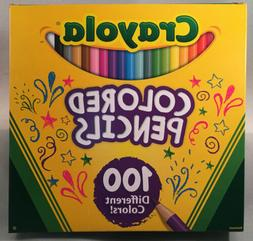 68-8100 CRAYOLA COLORED PENCIL 100-COLOR SET